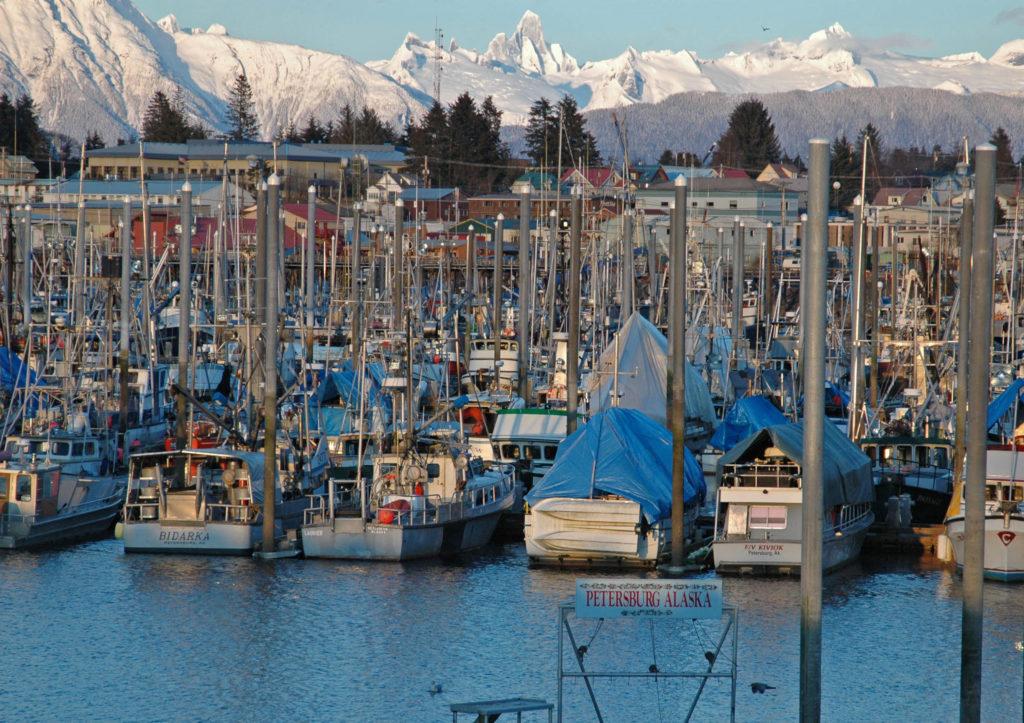 Alaska Harbor, Boats, Cruise ship